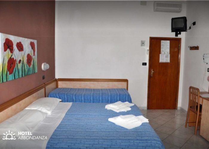 Hotel Abbondanza Gatteo Mare Camera Tripla
