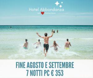 Hotel Abbondanza Gatteo Mare - Offerta Fine Agosto e Settembre